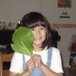 実家で見つけた7歳ころの写真。仙台市の中山に住んでいたころ。